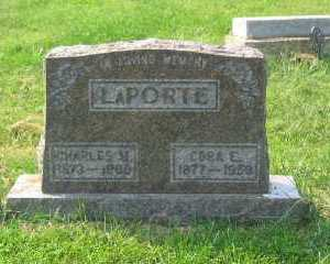 FOX LAPORTE, CORA E. - Harrison County, Ohio | CORA E. FOX LAPORTE - Ohio Gravestone Photos