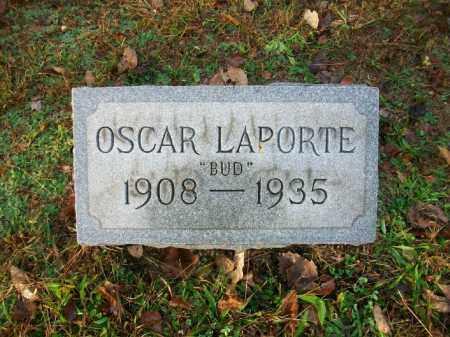 "LAPORTE, OSCAR ADISON ""BUD"" - Harrison County, Ohio | OSCAR ADISON ""BUD"" LAPORTE - Ohio Gravestone Photos"