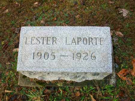 LAPORTE, WILLIAM LESTER - Harrison County, Ohio | WILLIAM LESTER LAPORTE - Ohio Gravestone Photos