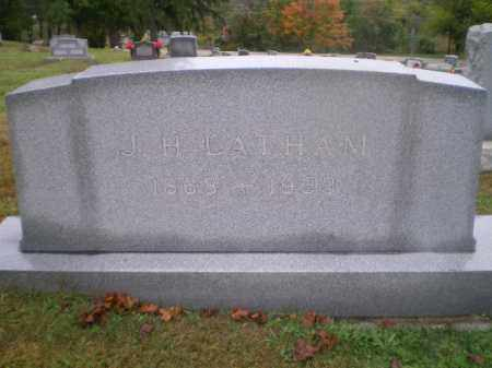 LATHAM, J. H. - Harrison County, Ohio | J. H. LATHAM - Ohio Gravestone Photos