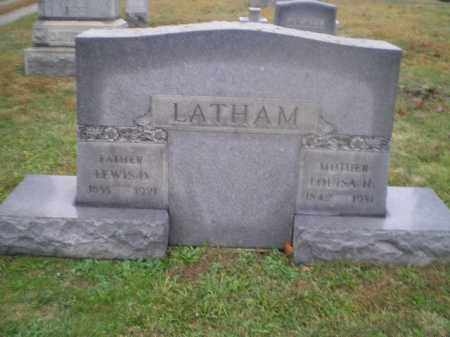 LATHAM, LOUISA - Harrison County, Ohio | LOUISA LATHAM - Ohio Gravestone Photos