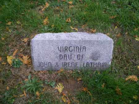 LATHAM, VIRGINIA EVELIN - Harrison County, Ohio | VIRGINIA EVELIN LATHAM - Ohio Gravestone Photos