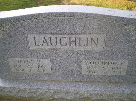 LAUGHLIN, WOODROW WILSON - Harrison County, Ohio | WOODROW WILSON LAUGHLIN - Ohio Gravestone Photos