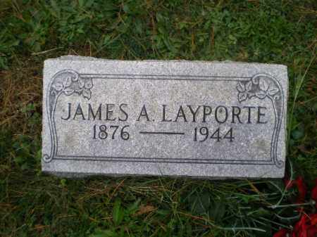 LAYPORTE, JAMES A - Harrison County, Ohio | JAMES A LAYPORTE - Ohio Gravestone Photos