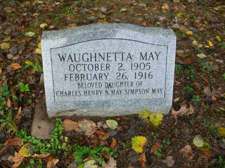 MAY, WAUGHNETTA - Harrison County, Ohio | WAUGHNETTA MAY - Ohio Gravestone Photos