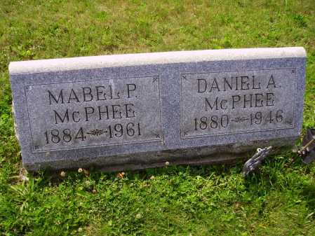 MC PHEE, DANIEL ALEXANDER - Harrison County, Ohio | DANIEL ALEXANDER MC PHEE - Ohio Gravestone Photos