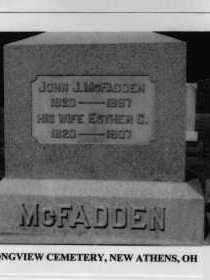 MCFADDEN, JOHN J. - Harrison County, Ohio | JOHN J. MCFADDEN - Ohio Gravestone Photos