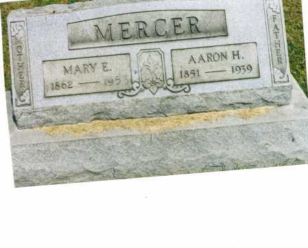 MERCER, MARY E. - Harrison County, Ohio | MARY E. MERCER - Ohio Gravestone Photos