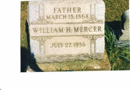 MERCER, WILLIAM H. - Harrison County, Ohio | WILLIAM H. MERCER - Ohio Gravestone Photos