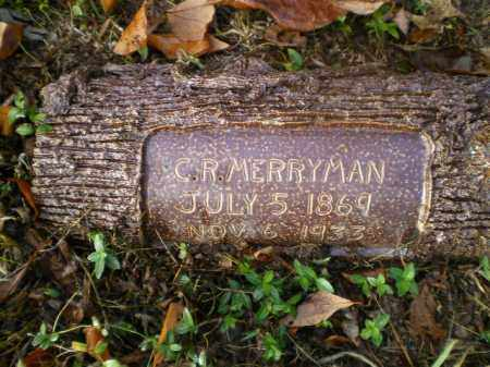MERRYMAN, CHARLES ROBERT - Harrison County, Ohio | CHARLES ROBERT MERRYMAN - Ohio Gravestone Photos