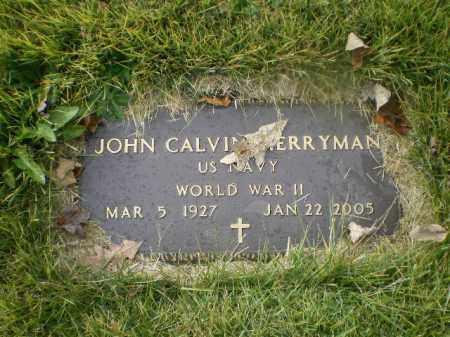 "MERRYMAN, JOHN CALVIN ""JACK"" - Harrison County, Ohio | JOHN CALVIN ""JACK"" MERRYMAN - Ohio Gravestone Photos"