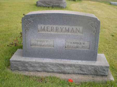 SINFIELD MERRYMAN, LAURA V - Harrison County, Ohio | LAURA V SINFIELD MERRYMAN - Ohio Gravestone Photos