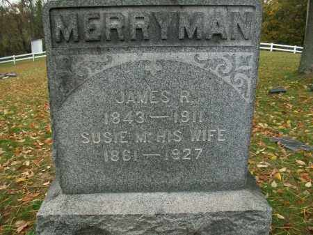 MERRYMAN, JAMES R - Harrison County, Ohio | JAMES R MERRYMAN - Ohio Gravestone Photos