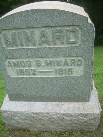 MINARD, AMOS B. - Harrison County, Ohio | AMOS B. MINARD - Ohio Gravestone Photos