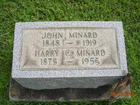 MINARD, HARRY C - Harrison County, Ohio | HARRY C MINARD - Ohio Gravestone Photos