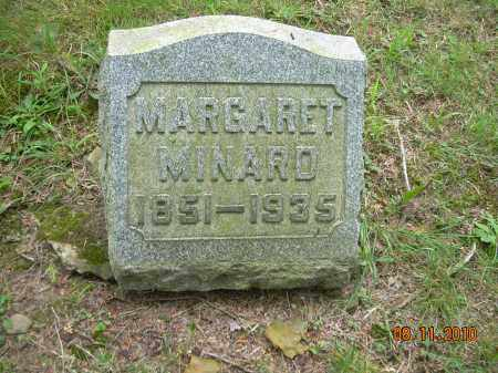 MINARD, MARGARET - Harrison County, Ohio | MARGARET MINARD - Ohio Gravestone Photos