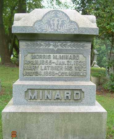 MINARD, MORRIS M - Harrison County, Ohio | MORRIS M MINARD - Ohio Gravestone Photos