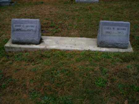WELLING MOORE, CORA - Harrison County, Ohio | CORA WELLING MOORE - Ohio Gravestone Photos