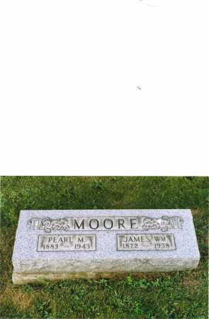 MOORE, PEARL - Harrison County, Ohio | PEARL MOORE - Ohio Gravestone Photos