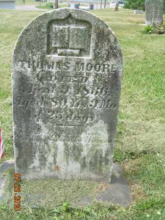 MOORE, THOMAS - Harrison County, Ohio | THOMAS MOORE - Ohio Gravestone Photos