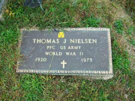 NIELSEN, THOMAS J - Harrison County, Ohio | THOMAS J NIELSEN - Ohio Gravestone Photos