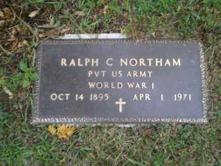 NORTHAM, RALPH CLYDE - Harrison County, Ohio | RALPH CLYDE NORTHAM - Ohio Gravestone Photos