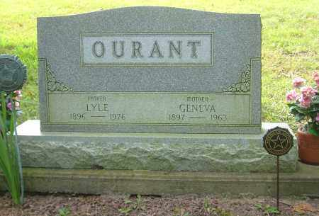 OURANT, LYLE - Harrison County, Ohio | LYLE OURANT - Ohio Gravestone Photos