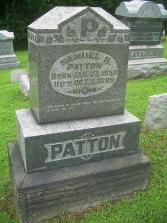 PATTON, SAMUEL R - Harrison County, Ohio | SAMUEL R PATTON - Ohio Gravestone Photos