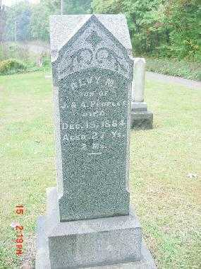 PEOPLES, ALVY M. - Harrison County, Ohio | ALVY M. PEOPLES - Ohio Gravestone Photos
