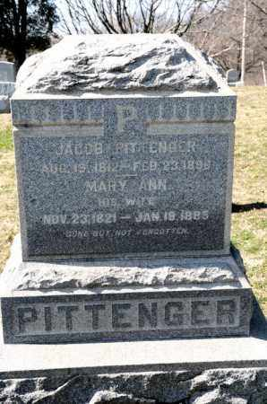 PITTENGER, MARY ANN - Harrison County, Ohio | MARY ANN PITTENGER - Ohio Gravestone Photos