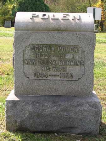 POLEN, JOSHUA - Harrison County, Ohio | JOSHUA POLEN - Ohio Gravestone Photos