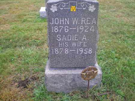 REA, JOHN WILLIAM - Harrison County, Ohio | JOHN WILLIAM REA - Ohio Gravestone Photos