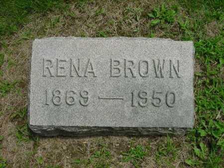 BOWER RENA, BROWN - Harrison County, Ohio | BROWN BOWER RENA - Ohio Gravestone Photos
