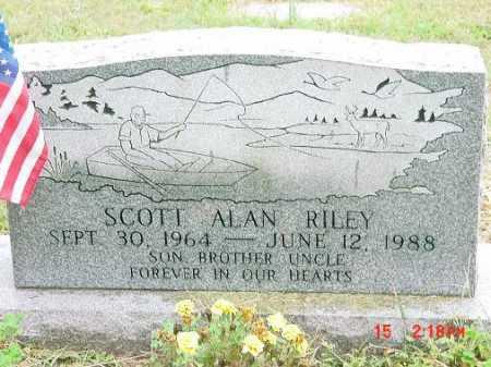 RILEY, SCOTT ALAN - Harrison County, Ohio   SCOTT ALAN RILEY - Ohio Gravestone Photos