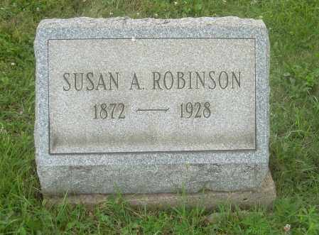 BUSBY ROBINSON, SUSAN A - Harrison County, Ohio | SUSAN A BUSBY ROBINSON - Ohio Gravestone Photos