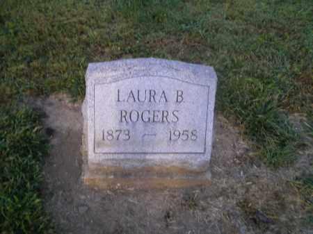 DUNLAP ROGERS, LAURA B - Harrison County, Ohio | LAURA B DUNLAP ROGERS - Ohio Gravestone Photos