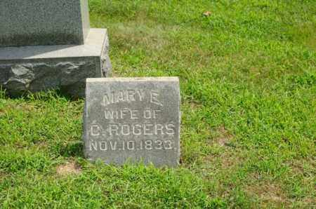ROGERS, MARY ELLEN - Harrison County, Ohio | MARY ELLEN ROGERS - Ohio Gravestone Photos