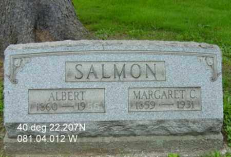 SALMON, ALBERT - Harrison County, Ohio | ALBERT SALMON - Ohio Gravestone Photos