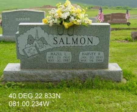 MANBECK SALMON, HAZEL L. - Harrison County, Ohio | HAZEL L. MANBECK SALMON - Ohio Gravestone Photos