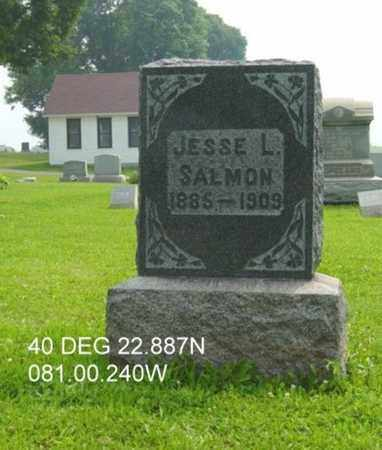SALMON, JESSE LEWIS - Harrison County, Ohio | JESSE LEWIS SALMON - Ohio Gravestone Photos