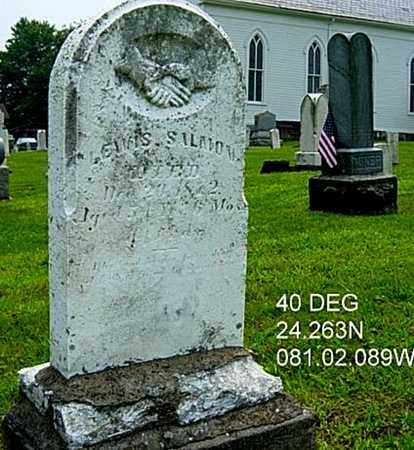 SALMON, LEWIS - Harrison County, Ohio | LEWIS SALMON - Ohio Gravestone Photos