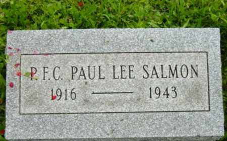 SALMON, PAUL LEE - Harrison County, Ohio | PAUL LEE SALMON - Ohio Gravestone Photos