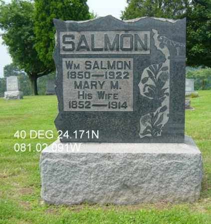 HEASTON SALMON, MARY M. - Harrison County, Ohio | MARY M. HEASTON SALMON - Ohio Gravestone Photos