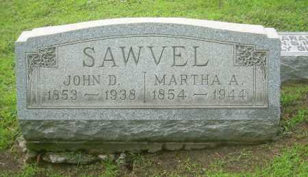 SAWVEL, JOHN D - Harrison County, Ohio | JOHN D SAWVEL - Ohio Gravestone Photos