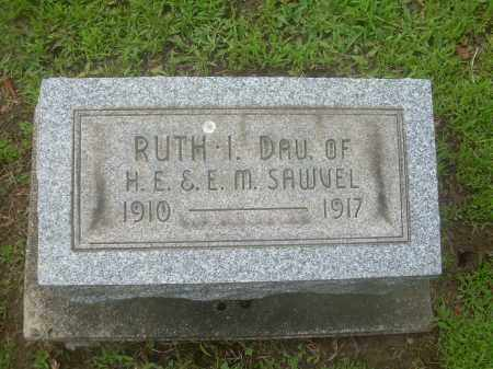 SAWVEL, RUTH I. - Harrison County, Ohio | RUTH I. SAWVEL - Ohio Gravestone Photos