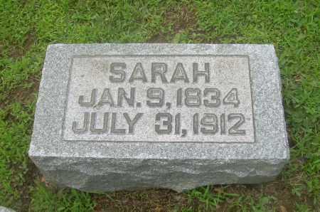 SAWVEL, SARAH - Harrison County, Ohio | SARAH SAWVEL - Ohio Gravestone Photos