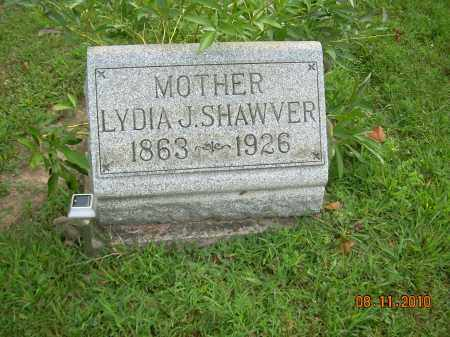 MILLER SHAWVER, LYDIA J - Harrison County, Ohio | LYDIA J MILLER SHAWVER - Ohio Gravestone Photos