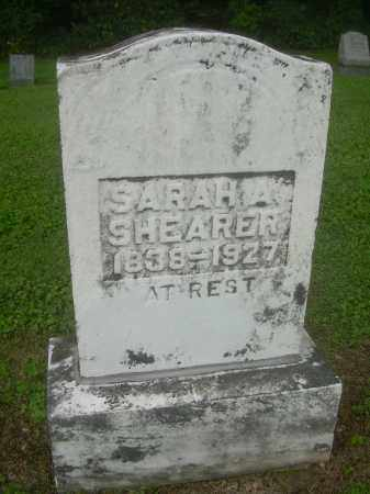 SHEARER, SARAH A - Harrison County, Ohio | SARAH A SHEARER - Ohio Gravestone Photos