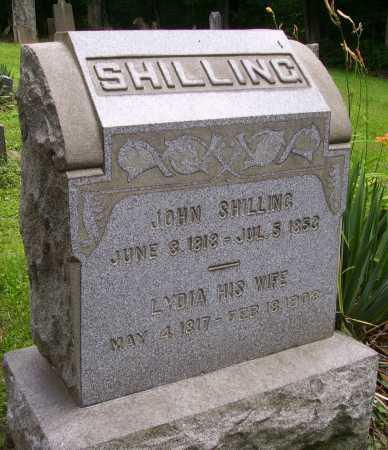 MILLER SHILLING, LYDIA - Harrison County, Ohio | LYDIA MILLER SHILLING - Ohio Gravestone Photos