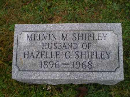 SHIPLEY, MELVIN M - Harrison County, Ohio | MELVIN M SHIPLEY - Ohio Gravestone Photos
